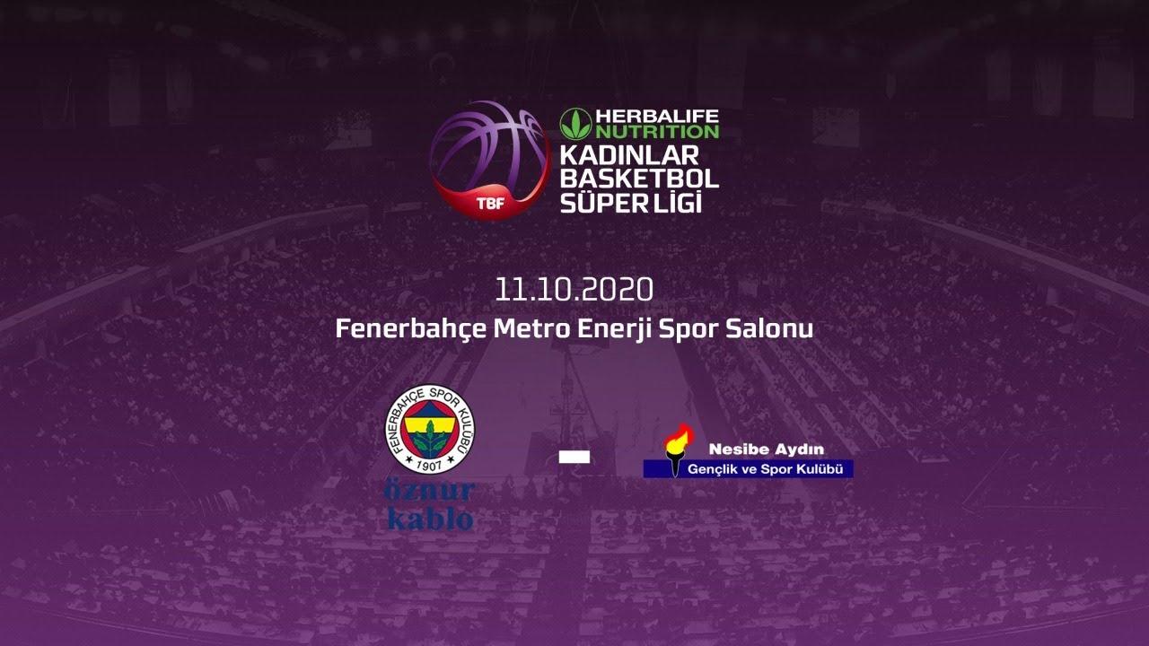 Fenerbahçe Öznur Kablo – Nesibe Aydın Herbalife Nutrition KBSL 3.Hafta