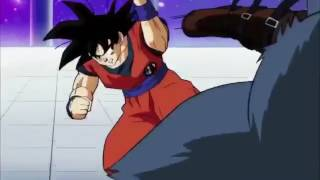 Dragon ball z super Episode 81 goku vs blue wolf English sub part 1