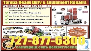 Mobile Heavy Duty Diesel Mechanic Tampa Equipment Repair Service Technician