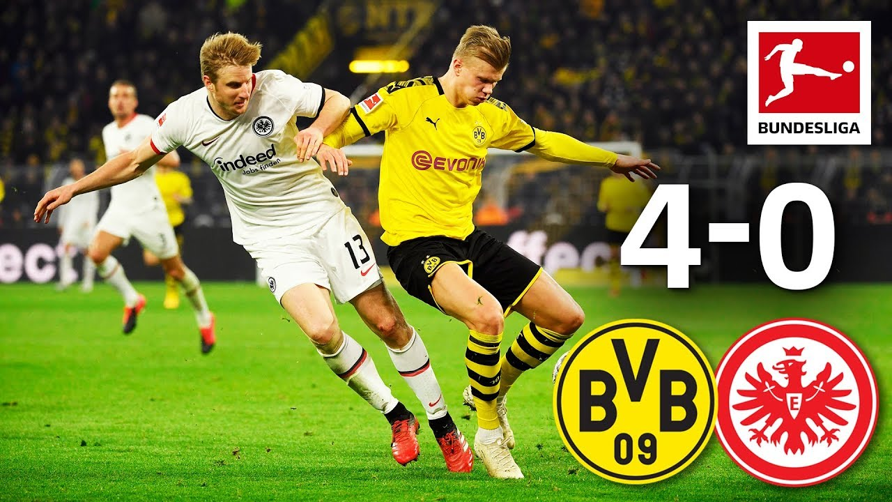 Borussia Dortmund Vs Eintracht Frankfurt I 4 0 I Haaland
