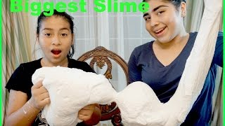 Making The BIGGEST SLIME!