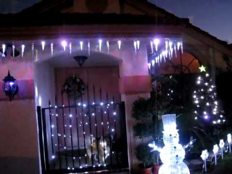 gemmy lightshow shooting star icicle lights plus gemmy color changing icicle lights led