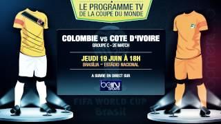 Colombie - Côte d'Ivoire, Uruguay - Angleterre... Le programme TV du jour !