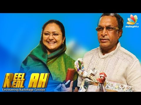 Nassar's Wife Kameela Interview : Dont give such characters to Nasser | Reelah Realah