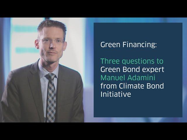 Green Finance expert Manuel Adamini on Green Finance
