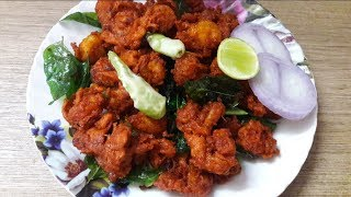 Prawns Pakoda Recipe || Quick And Easy Prawns Pakoda Recipe || Indian Street Food