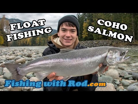 FLOAT FISHING FOR COHO SALMON - CHEHALIS RIVER BC | Fishing With Rod