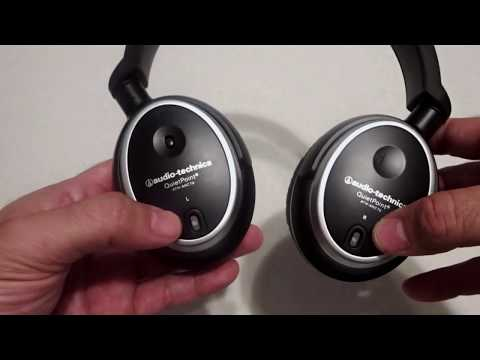Audio-Technica ATH-ANC7b QuietPoint Review And Open Box!!