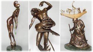 Танец бронзы   Романтические скульптуры Игоря Романовского