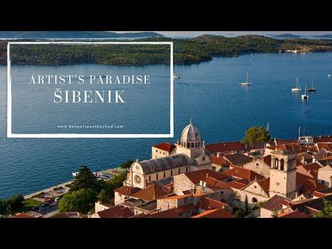 Tour of Sibenik - Artist's paradise   Croatia 2020   4k