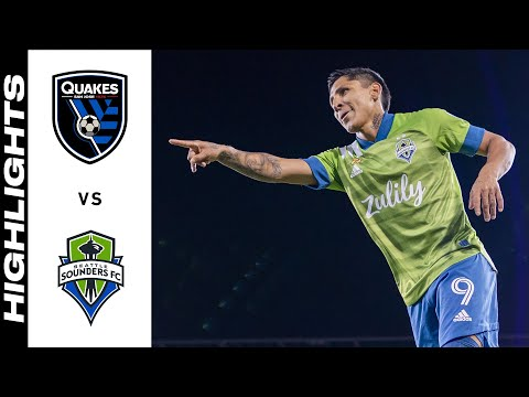 San Jose Earthquakes Seattle Sounders Goals And Highlights