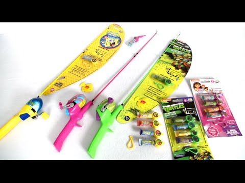 Kid Casters Fishing Kits And Training Bait Packs From Lil' Anglers