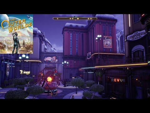 The Outer Worlds - SciFi RPG - P. 11 Byzantium (1) (Hard) - Playthrough / No Commentary