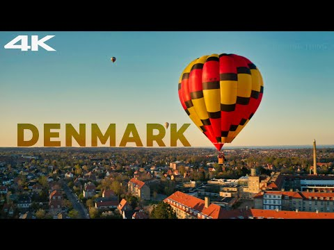 Aerial View of Copenhagen, Capital of Denmark | Shot on 4k | Intriguing Thing