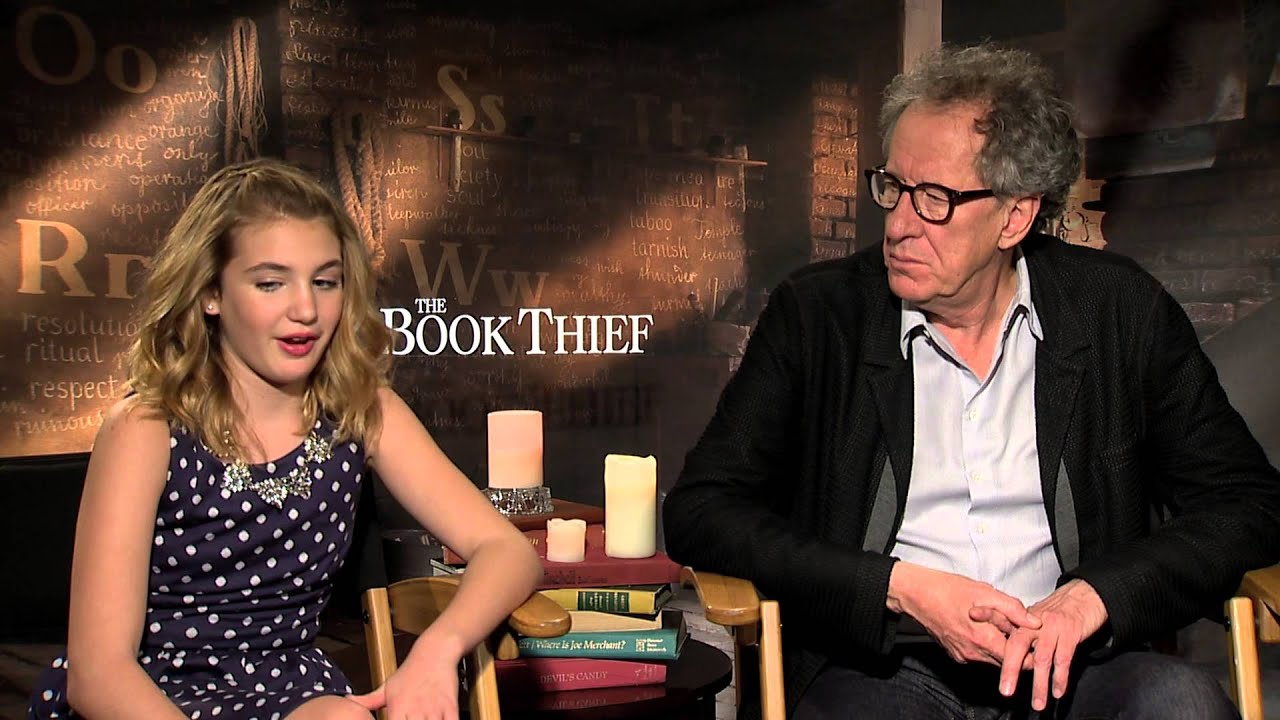 Nico liersch family - The Book Thief Interviews Geoffrey Rush And Sophie N Lisse Sit Down With Andrew Freund Youtube