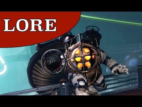 Monster Lore: The Big Daddy (BIOSHOCK + Burial At Sea SPOILERS)