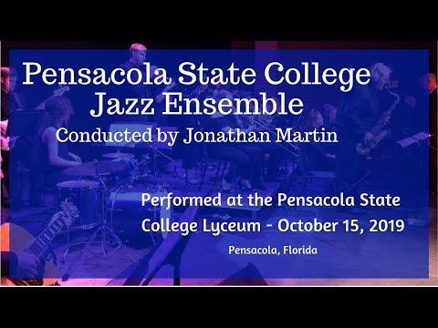 Pensacola State College Jazz Ensemble Full Concert - October