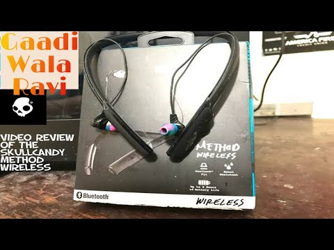 Skullcandy Method Wireless Bluetooth Review,unboxing,Setup