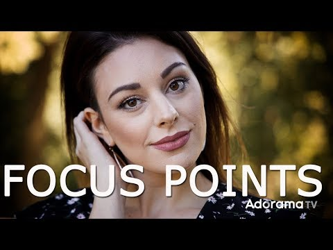 Using Different Focus Points for Portraits