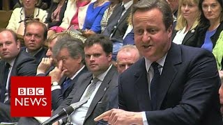 Cameron to Corbyn: 'For heaven's sake man, go!' - BBC News thumbnail