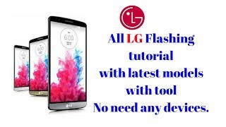 How to flash LG with LG Flash Tool.