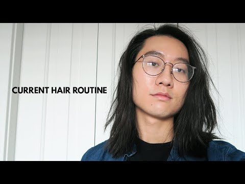 How I Style my Hair After the Cut | Medium Long Hairstyles
