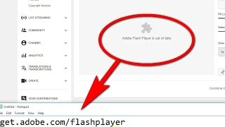 Adobe Flash Player is out of date (Google Chrome)
