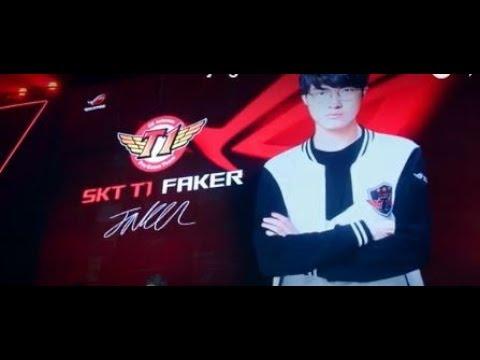 Time to be a Hero : Beijing - SKT T1 Faker on ROG Fan Event   ROG
