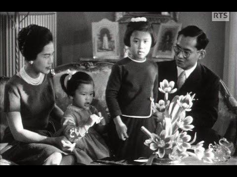 Le roi de Thaïlande en famille (1961)