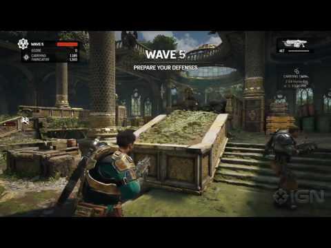 24 Minutes of Gears of War 4: Horde 3.0 Gameplay - PAX West 2016
