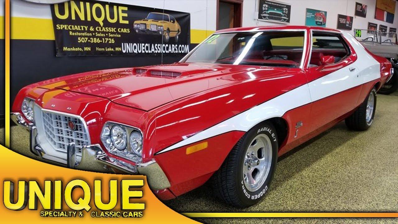 1972 Ford Gran Torino Starsky Hutch Tribute For Sale Youtube