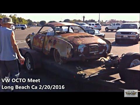 Rusty Early 60s VW Ghia Field Find