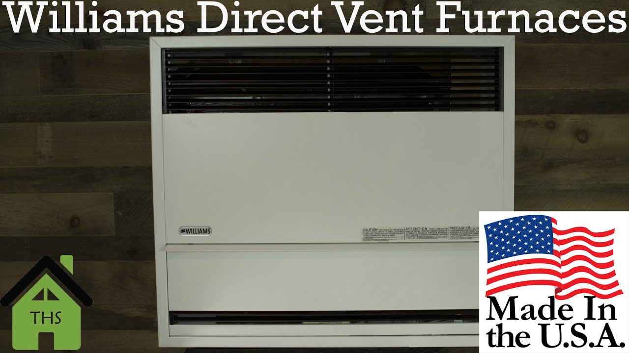 William Furnace Company Direct Vent Furnace Overview ...