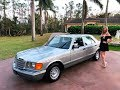SOLD 1984 Mercedes-Benz 300SD, 1 Owner, W126, for sale by Autohaus of Naples, 239-263-8500