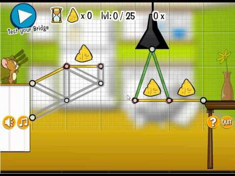 Tom and Jerry Rig a Bridge 1 - GamesGames.Ca