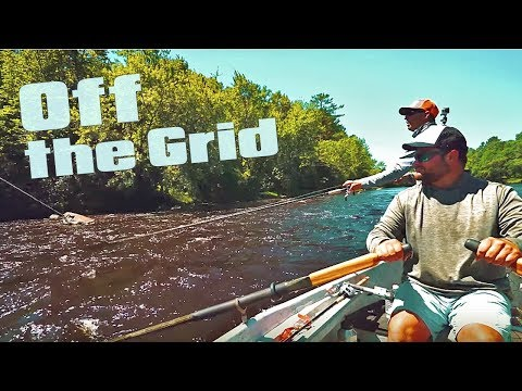 OFF The Grid River MUSKIES Float Trip - Bucket List!!
