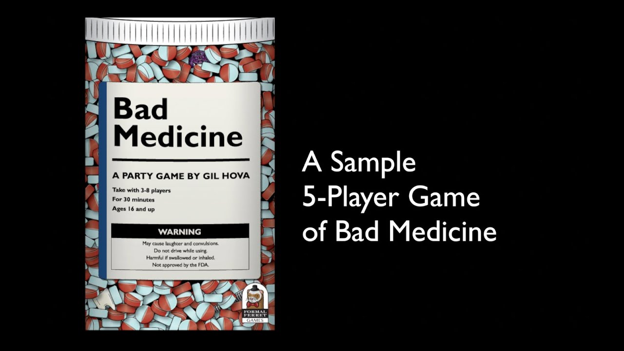 Pharma Company May Have Downplayed Side >> Bad Medicine A Party Game About Pharmaceuticals By Gil Hova