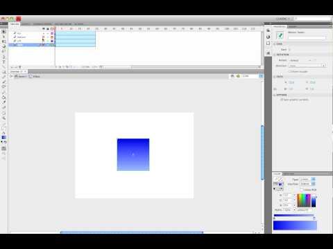 Flash CS4: 3D Box Tutorial