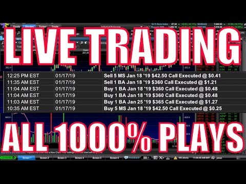 Making 1000% Profit EVERY WEEK  – LIVE TRADING MONTAGE