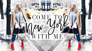 COME TO NEW YORK WITH ME! | WHAT I WORE AT FASHION WEEK | I Covet Thee | AD