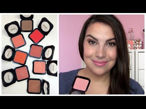 NYX HD Blush Review thumbnail