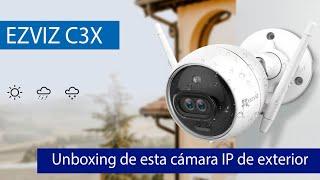 EZVIZ C3X: Conoce esta cámara IP de exterior Full HD 1080p con visión nocturna a color