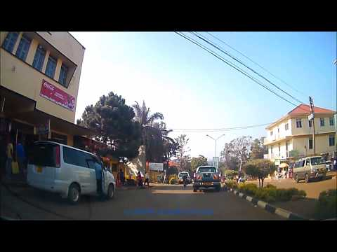 Entebbe Town Afternoon Drive