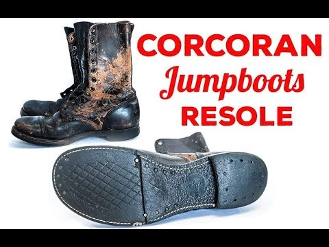 Corcoran Jump Boots Resole #46