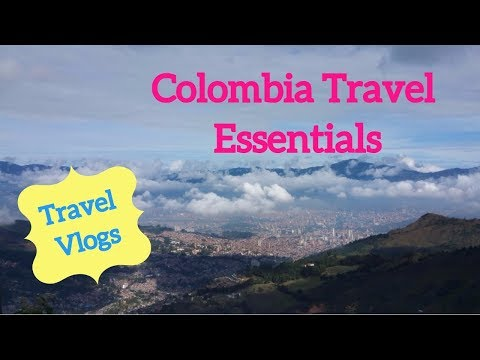 Colombia Travel Essentials! | Vlog Series