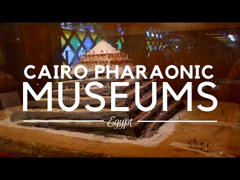 Museums in the Pharaonic Village, Giza - Cairo, Egypt - The Real Living Museum of Egyptian History