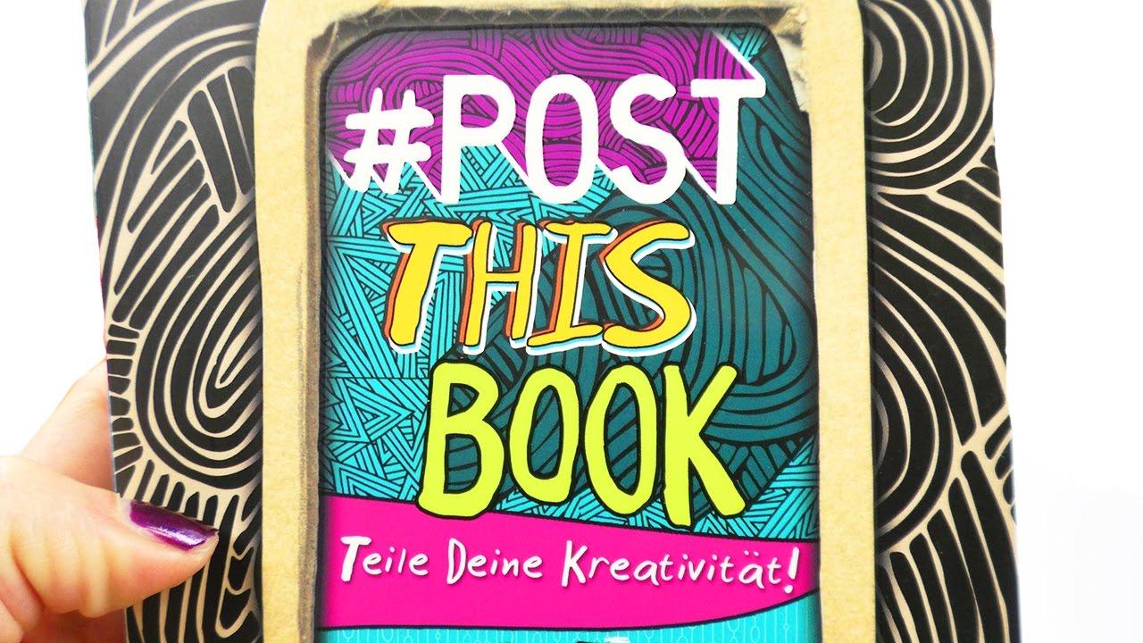 Postthisbook | Neues kreatives Buch zum Teilen | viel coole ...