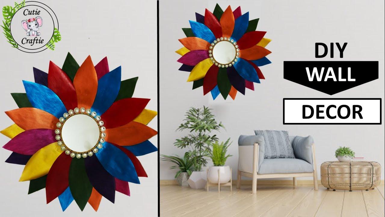 Diy Paper Craft Wall Decor Flower