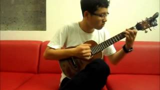 (Gotye)-Somebody That I Used To Know.(Guitarlele Cover)
