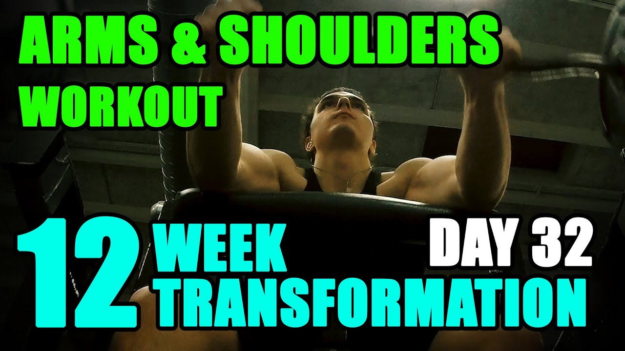Arnold schwarzeneggers arms shoulders abs workout l 12 week arnold schwarzeneggers arms shoulders abs workout l 12 week transformation challenge l day 32 malvernweather Image collections